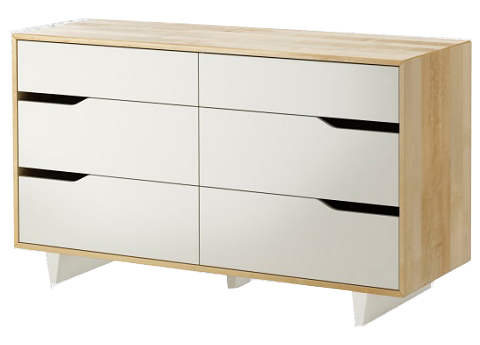 ID: HT BFC05, Wide 6 Drawer Chest