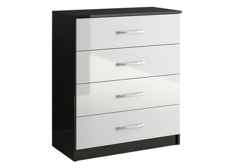 ID: HT BFCT01, White Chest Drawer