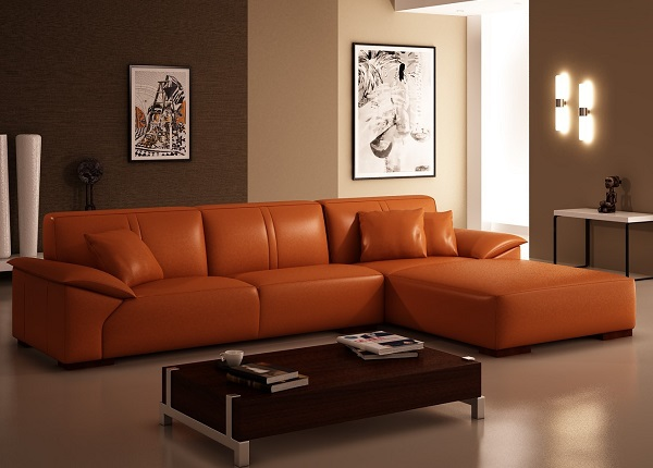 Perfect ID: HT SOF26, Orange Sofa Part 23