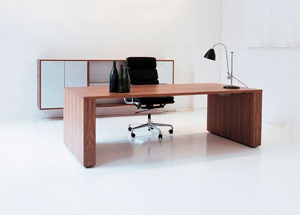 ID: HT CT17, Contemporary Executive Desk