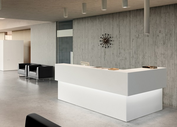 ID: HT RT16, Designer Reception Desk