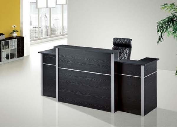 ID: HT RT14, Double Pedestal Reception Desk