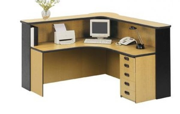 ID: HT RT17, Single Cabinet Reception Desk