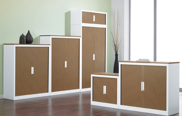 white office cabinet with doors. ID: HT CAB11, Modern Office Cabinet White With Doors H