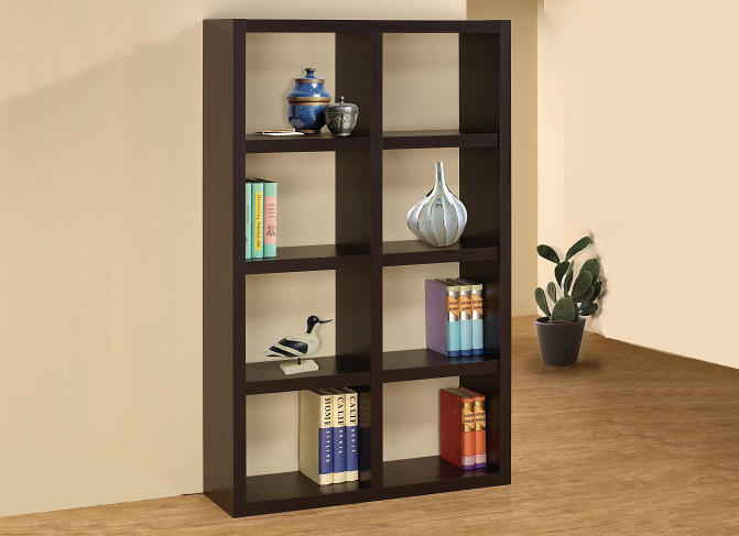 ID: HT BS04, Contemporary Bookshelf