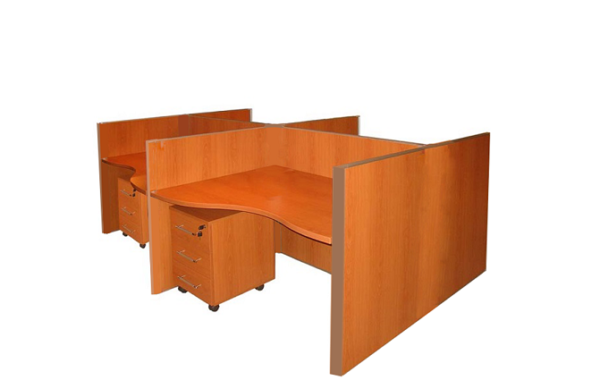 ID: HT WS12, Laminated Workstation Desk