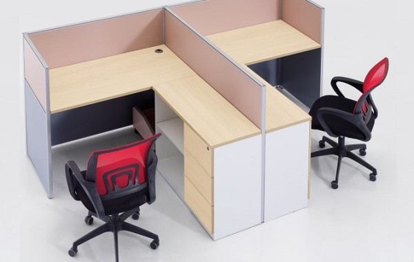 ID: HT WS01, 2 Seater Workstation