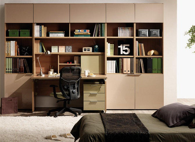 ID: HT BS08, Modern Room Bookshelf