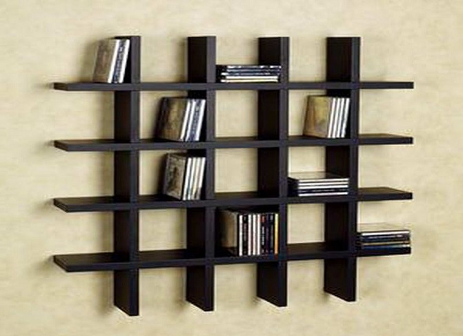 ID: HT BS01, Wall Mounted Bookshelf