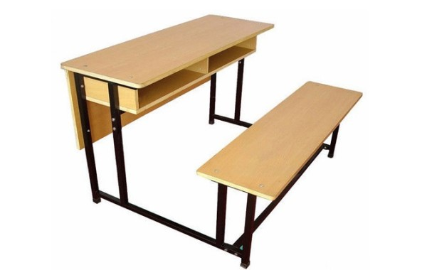 ID: HT UF21, 2 Seaters School Bench