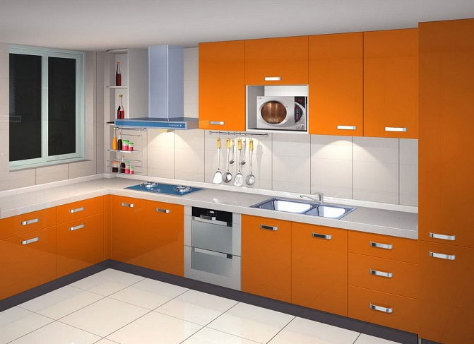 Id Ht Cab13 Fashionable Kitchen Cabinet