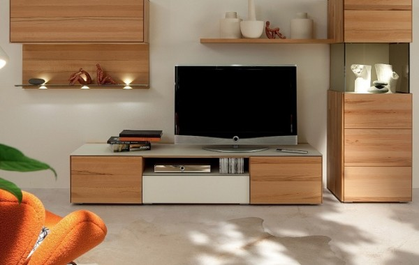 ID: HT TV02, TV Stand with lots of Storage