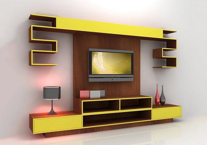 Buy TV Stand with Wall-Mounting Lagos Nigeria | Hitech Design Furniture