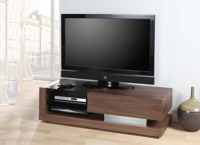Stylish Tv Stand Designs : Led tv cabinet designs for bedroom with wallpaper design modern