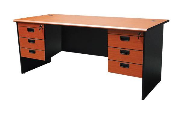 ID: HT COMT01, Double Pedestal Office Desk