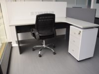 ID: HT ET23, Office Table with Cabinet