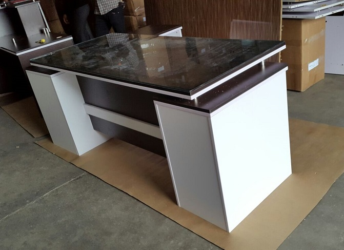 office table buy.  Table ID HT ET31 Dual Cabinets Office Table Lagos To Buy L