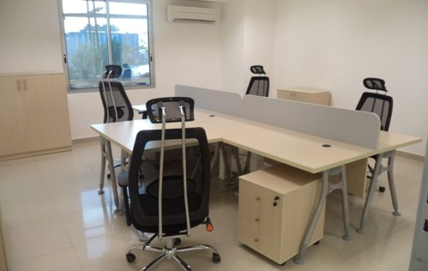 ID: HT WS22, MDF Workstation Table