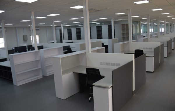 ID: HT WS27, Single Workstation Cubicle