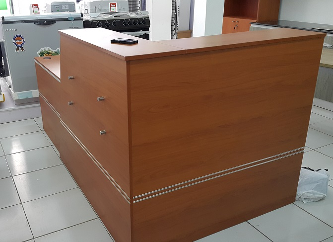 ID: HT RT21, Solid Reception Desk