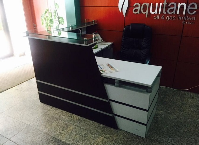 ID: HT RT31, Beautiful Reception Desk