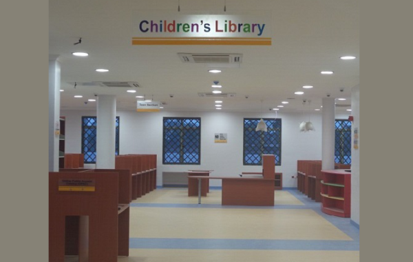 ID: HT SD30, Children Library Furniture