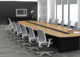 ID: HT CT33, Oval Shape Conference Table