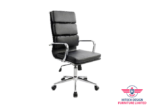ID: HT OC777, Office Chair – Padded Leather