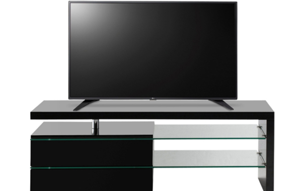 ID: HT TV27, Glass TV Stand