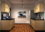 HT CAB104, Wall Kitchen Cabinet