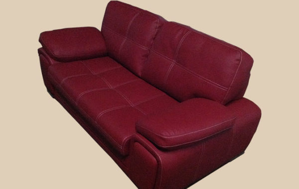 ID: HT SOF53, Pink-Red Sofa