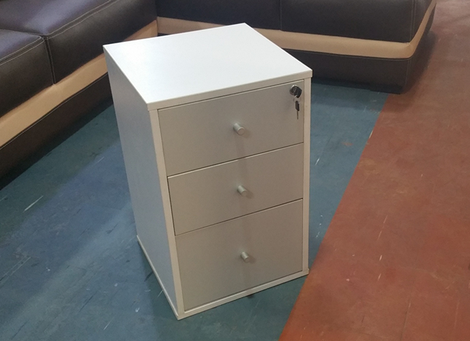 HT MD10 White Mobile Drawer