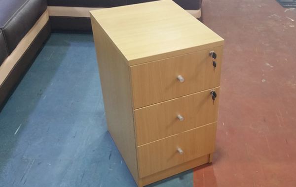 HT MD2 Beech Mobile Drawer