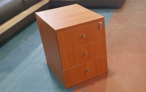 HT MD3 Cherry Mobile Drawer