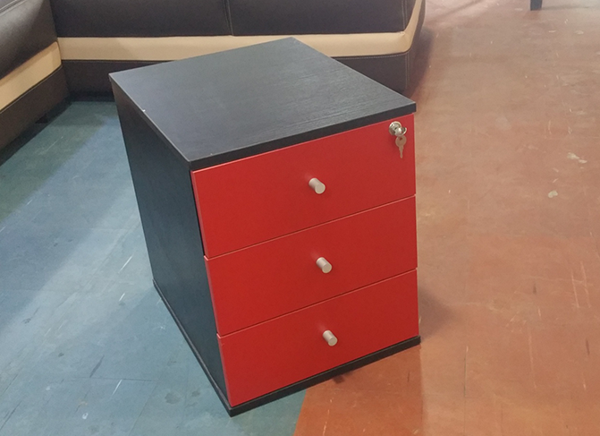 HT MD5 Red Mobile Drawer