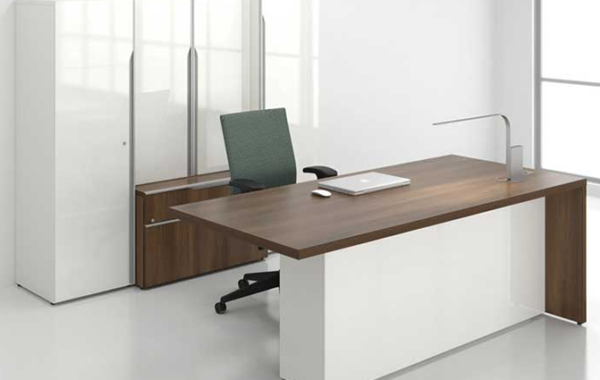 HT OD105 Snowland Office Desk