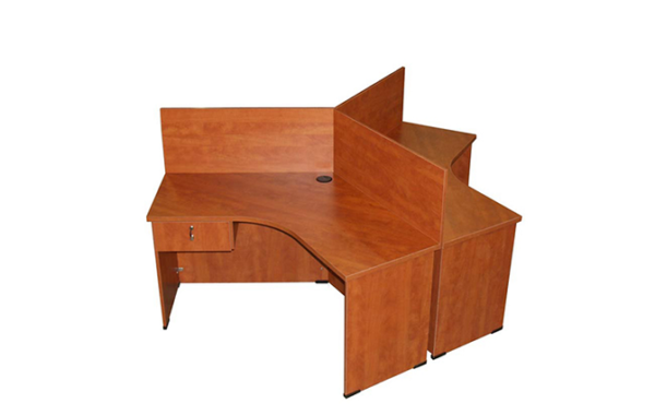 ID: HT NWS4, Attached Drawer Workstation