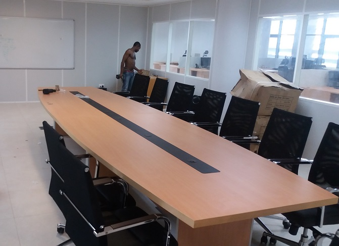 Classroom Furniture In Nigeria ~ Seater conference tables lagos nigeria hitech design